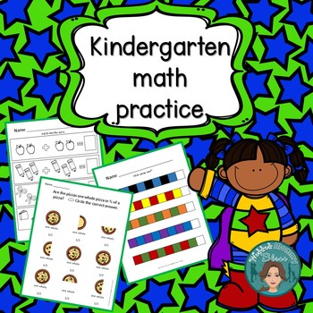 Kindergarten math morning work - Money, Patterns, Sequencing and more
