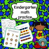 Kindergarten math morning work - Money, Patterns, Sequenci