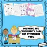 Kindergarten math data and assessment tools