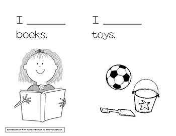 Kindergarten mini book!