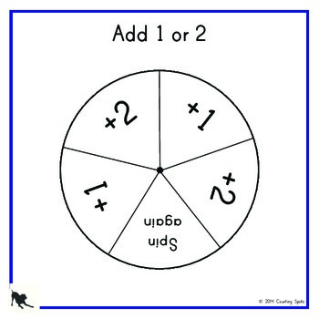Kindergarten numeracy - 25 different spinners