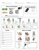 Kindergarten or Beginner ESL Student Information Survey