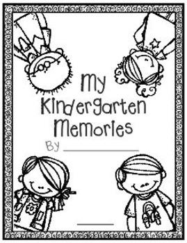 Kindergarten or First Grade Memory Book