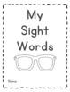 {Kindergarten or First Grade} Sight Word Checklist Book by