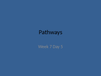 Kindergarten pathways to Reading powerpoint Day 5 Letter Pp