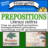 Kindergarten prepositions-Grammar