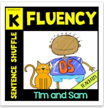 Fluency Activity Kindergarten Tim and Sam