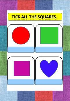 Kindergarten Maths shapes