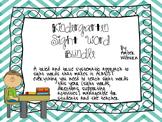 Kindergarten sight word bundle pack (sight words, games, a