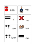 Kindergarten sight word picture representations