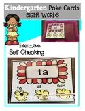 Kindergarten sight words (popcorn theme)