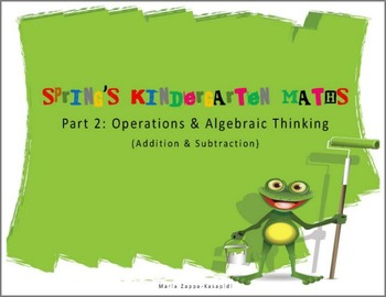 Kindergarten spring maths review-part 2