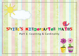 Kindergarten spring maths review-part1