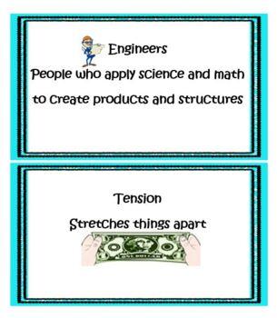 All NEW!!! Kindergarten through Second Grade Engineering Design -Truss Bridges