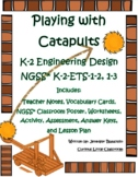 ALL NEW!!! Kindergarten through Second Grade Engineering Design -Catapults