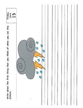 Kindergarten to First Grade Summer Writing/Activity Packet