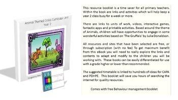 Kindergarten, Year 1, Year 2 - Animal Themed Cross Curricular Unit (Bundle)