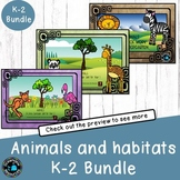 Animals unit for Infants Grades (bundle)