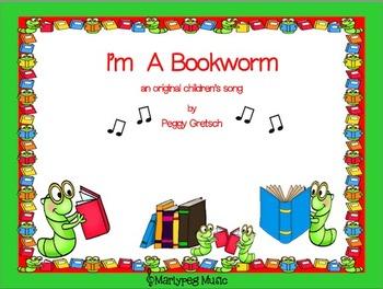 Bookworm Song/Jazzy Kindergarten Song/Primary K-1/Performance/Classroom Music