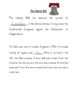 Kindergarten/First Grade Guide to America