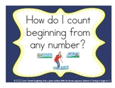 Kindergarten/First Grade MATH COMMON CORE ESSENTIAL QUESTION POSTER SET