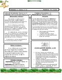 Kindergarten Newsletter Template in Spanish
