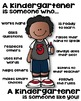 Kindergartener Poster - [someone who]