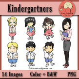 Kindergartners Clip Art Freebies