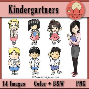 Kindergartners Clip Art Freebies
