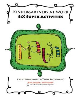 Kindergartners at Work - Six Super Activities: MATH