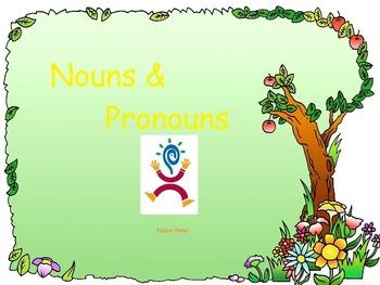 Kindergaten & Grade 1 PowerPoint Presentations on Nouns & Pronouns