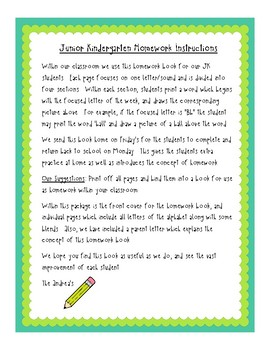 Kindergaten Phonics Workbook