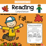Kindergarten Reading Comprehension (Fall)
