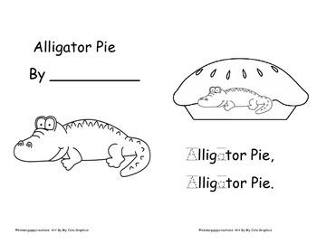 Kinderguppycreations Alligator Pie!