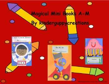 Kinderguppycreations Magical Mini Books A - M