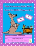 Kinderoo High Frequency Word Cards