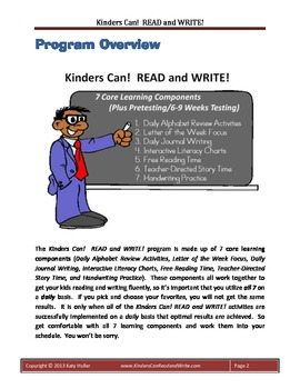 Kinders Can! READ and WRITE!