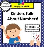 Kinders Talk About Numbers!:  SMARTBOARD Math Talks
