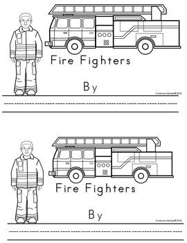 Kinderswrite2read Book 13 Fire Fighters