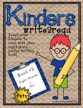 Kinderswrite2read Book 2 Pets