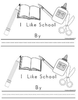 Kinderswrite2read Book 3 Back to School