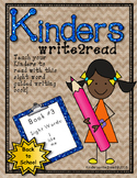 Kinderswrite2read Book 3 Back to School