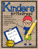 Kinderswrite2read Book 5 Fruit