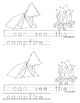 Kinderswrite2read Book 7 Camping