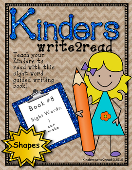 Kinderswrite2read Book 8 Shapes