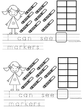 Kinderswrite2read Book 9 Counting & Tens Frames