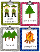 Kinderswrite2read Camping Picture-Word Cards