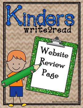 Kinderswrite2read Website Review Page UPDATED