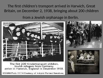 Kindertransport Powerpoint