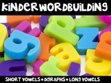 KinderWordBuilding® Kindergarten Word Building Intervention Curriculum